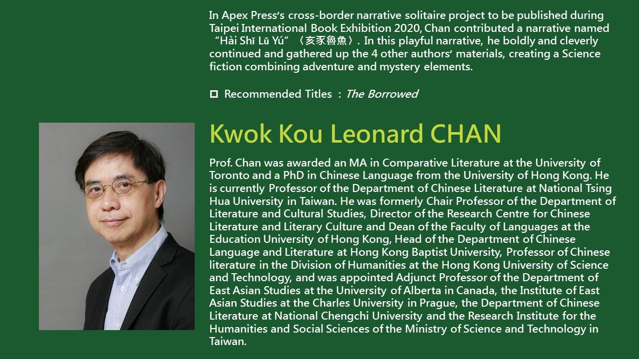 2020TIBE_Kwok Kou Leonard CHAN