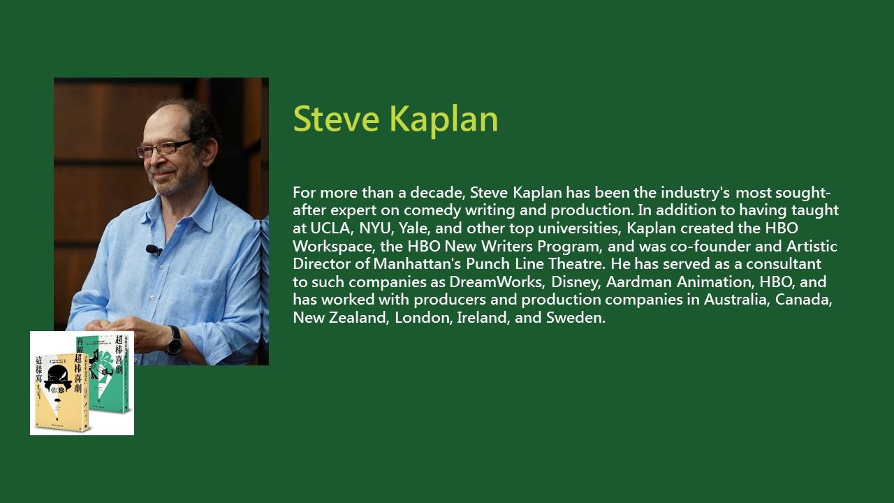 2020TIBE_Steve Kaplan