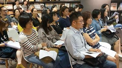 出版社出席踴躍,座無虛席。