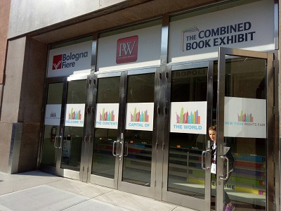 New York Rights Fair is co-organized by Bologna Fiere, Publishers Weekly and The Combined Book Exhibit.